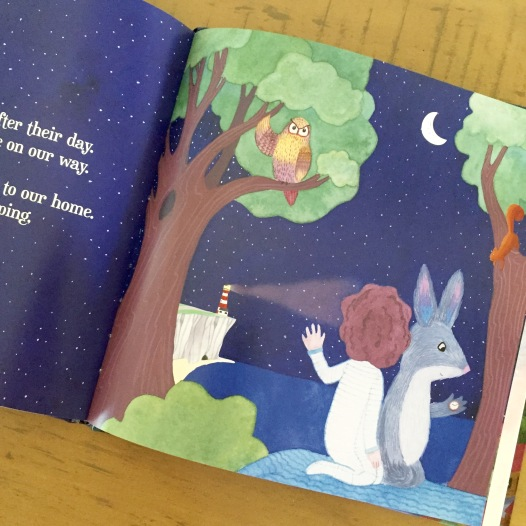 Bedtime Bilby - internal book page