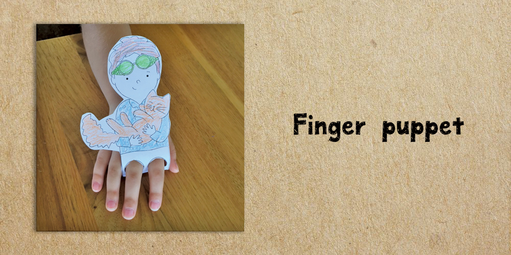 finger puppet - Website Activities