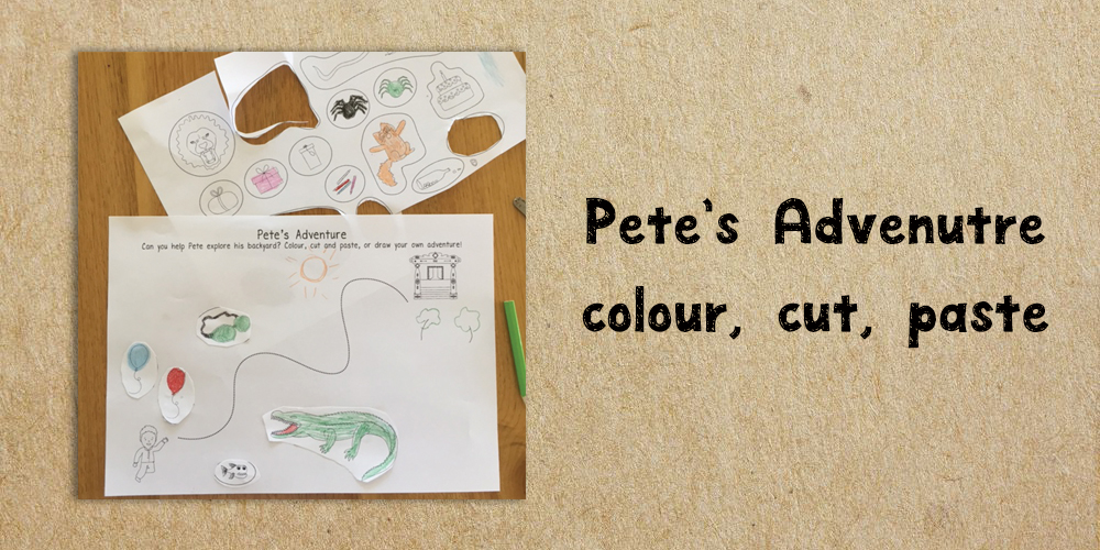petes adventure - Website Activities