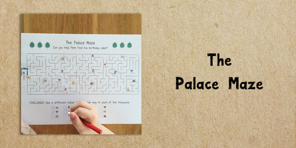 The palace maze - Website Activities